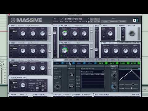Massive Sound Design Quick Tip - Oscillator Phase Retriggering