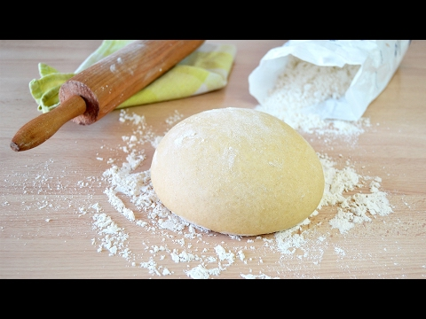 How to Make Basic Pizza Dough - Super Simple Pizza Dough Recipe