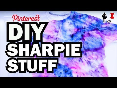 DIY Sharpie Stuff, Corinne VS Pin #24