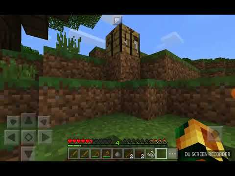 MCPE Survival let's play [EP 1] A new world! (v.1.1.5)