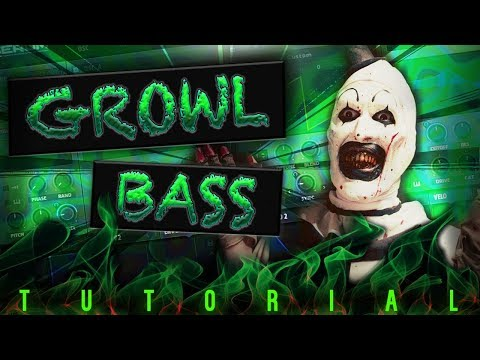 INSANELY HEAVY AND WET GROWL BASS SERUM TUTORIAL