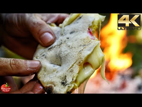 Best Tortilla Sandwich Recipe - 4K Primitive Cooking