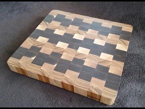 pullins woodworks end grain cutting board