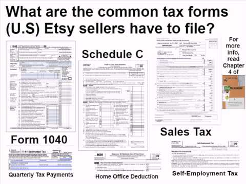Etsy-preneurship Chapter 4 - Etsy Taxes