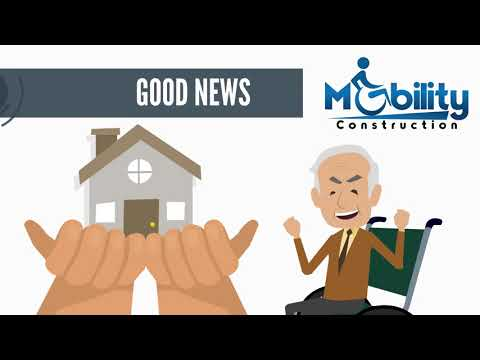 Mobility Construction - Wheelchair Ramps, handicap bathrooms, stairlifts