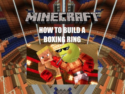 HOW TO BUILD A BOXING RING IN MINECRAFT