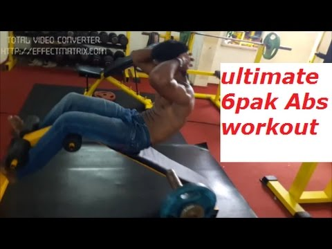 ULTIMATE 6PAK ABS WORKOUT routine for you get 6PAK within 3months(tamil/english)