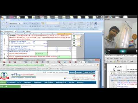 737 (Income Tax) How to save the Excel  Filled return in PDF format