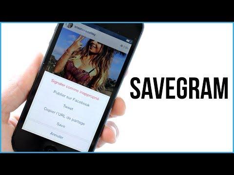 SaveGram : Enregistrer les photos et vidéos de Instagram