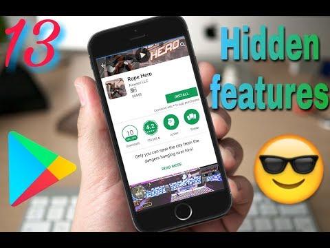 #13 Google play store hidden features