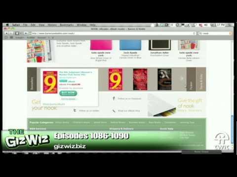Daily Giz Wiz 1087: The Nook E-Book Reader