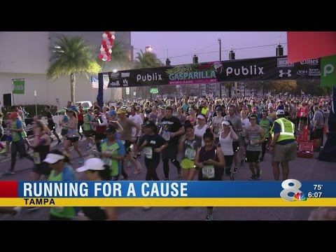Gasparilla Distance Classic brings 30,000 runners to Tampa