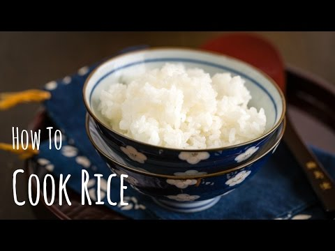 How to Cook Rice (Recipe) 美味しいご飯の作り方(レシピ)