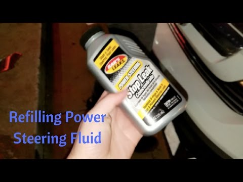 Changing My Power Steering Fluid (Mini Vlog)