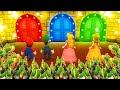 Mario Party 9 MiniGames Mario Vs Luigi Vs Peach Vs Shy Guy Master Cpu
