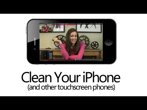 How to Clean an iPhone, BlackBerry, or Any Touch Screen Phone Properly! (Clean My Space)