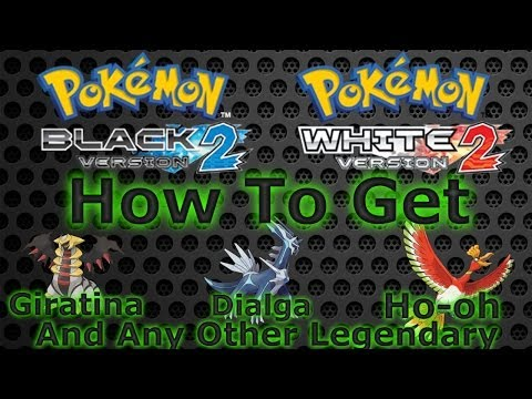 Pokémon White 2/Black 2: How to Get Giratina, Dialga, Ho-oh and Any Other Legendary