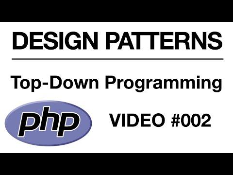 PHP - Top Down Programming Logic - Part 3