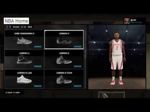 I finally got my Nike shoe deal!!! NBA 2K15 XBOX ONE My Career - 1 / 6