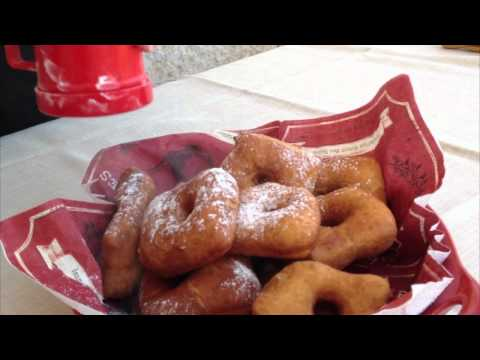 How to make no-mixer Doughnuts (Square and Round)