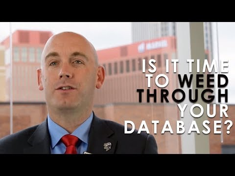 Colorado Springs Real Estate: Is it time to weed through your database?