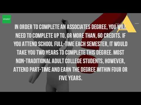 How Long Does It Take To Get Your Associates Degree Part Time?