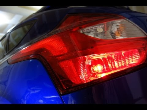 How To Remove Ford Focus Tail Lamp Assembly