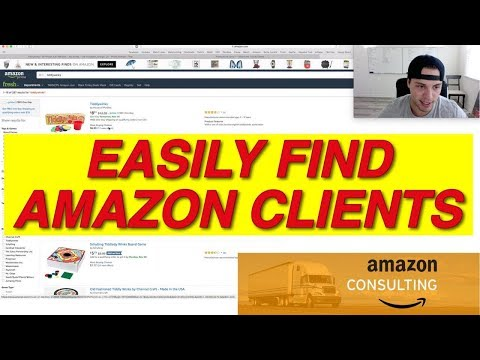 EASIEST Way To Find AMAZON CONSULTING CLIENTS | How To Start An Amazon Consulting Business Part 2