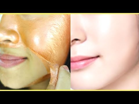 Permanent Skin Whitening With Tomato Peel Off Mask | Get Milky White & Crystal Clear Spotless Skin