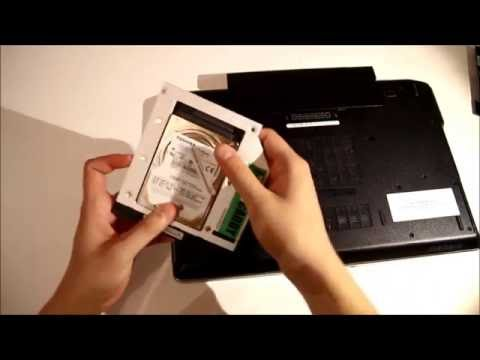 Dell Latitude E6520 adding 2nd HDD / SSD using DVD / optical drive bay with HDD Caddy