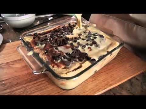 Chocolate Peanut Butter Bread Pudding Recipe (Phantom Gourmet)1