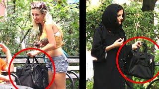 AMERICAN vs MUSLIM BAG EXPERIMENT