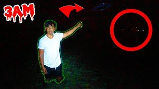 DO NOT HUNT ALIENS AT 3AM! (Creepy Lights Spotted)