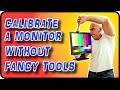 How To Calibrate a Monitor Without a Colorimeter - Stock Photography Ep. 8