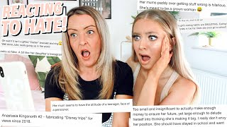 REACTING TO HATE COMMENTS WITH MY MUM!!