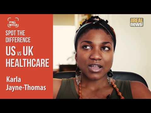 Spot The Difference - US / UK Healthcare - Karla Jayne-Thomas