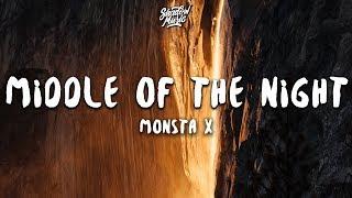 Monsta X - MIDDLE OF THE NIGHT (Lyrics)