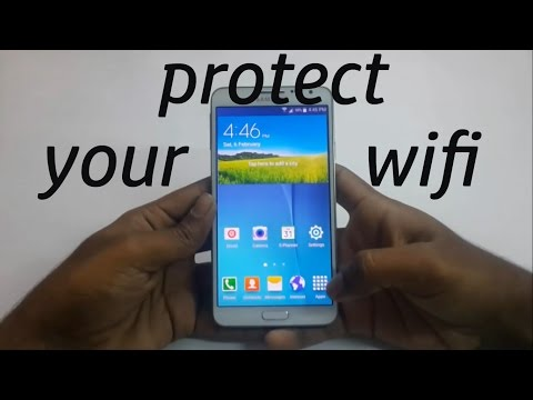 how to hack/protect wifi password on android 2016