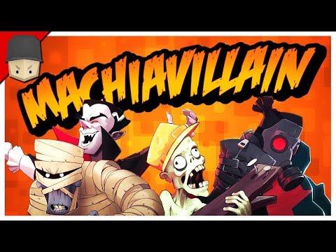 The Evil Genius! - MachiaVillain Gameplay