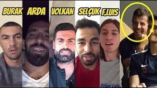 Emre Belözoğlu'na Doğum günü sürprizi & ARDA, SELÇUK ,BURAK, VOLKAN....
