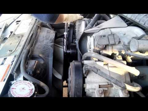 1993 Ford Ranger 4.0l V6 serpentine belt, tensioner, idler pulley / Pемень, натяжитель, ролик