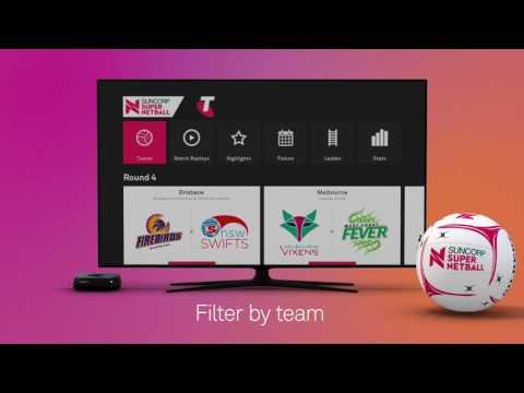Netball Live on Telstra TV