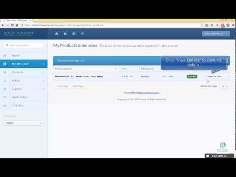 RDP Arena - How to Reset Administrator Password of your VPS ( RDPArena.com )