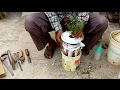 Auto watering system for tree planting