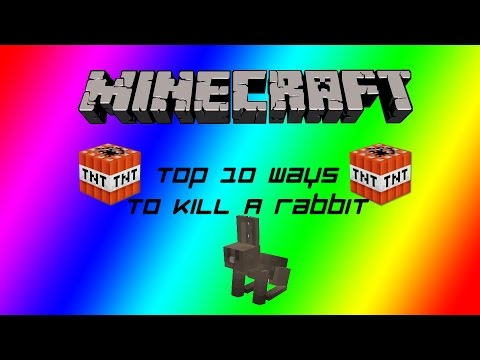 10 Ways to Kill a Rabbit in Minecraft