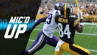 Antonio Brown Mic'd vs. Xavier Rhodes