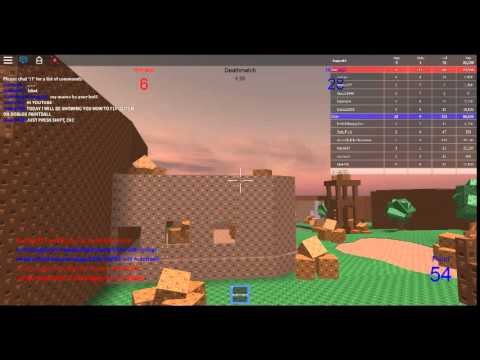 ROBLOX FLY GLITCH PAINTBALL