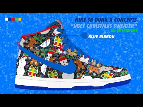 Ugly Sweater - Nike SB x Concepts
