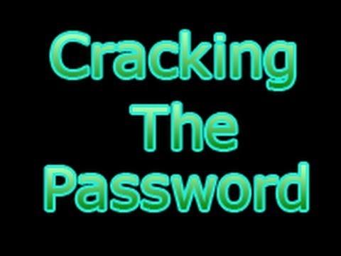 Cracking The Password Win XP SP3