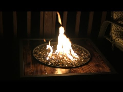 SmokingPit.com - DYI LP Fire Pit to add some warmth and relaxing ambience to your BBQ